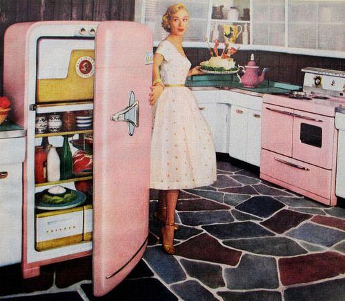 Kelvinator Kitchen - 1955 | Retro Kitchen | Pinterest | Donne ...