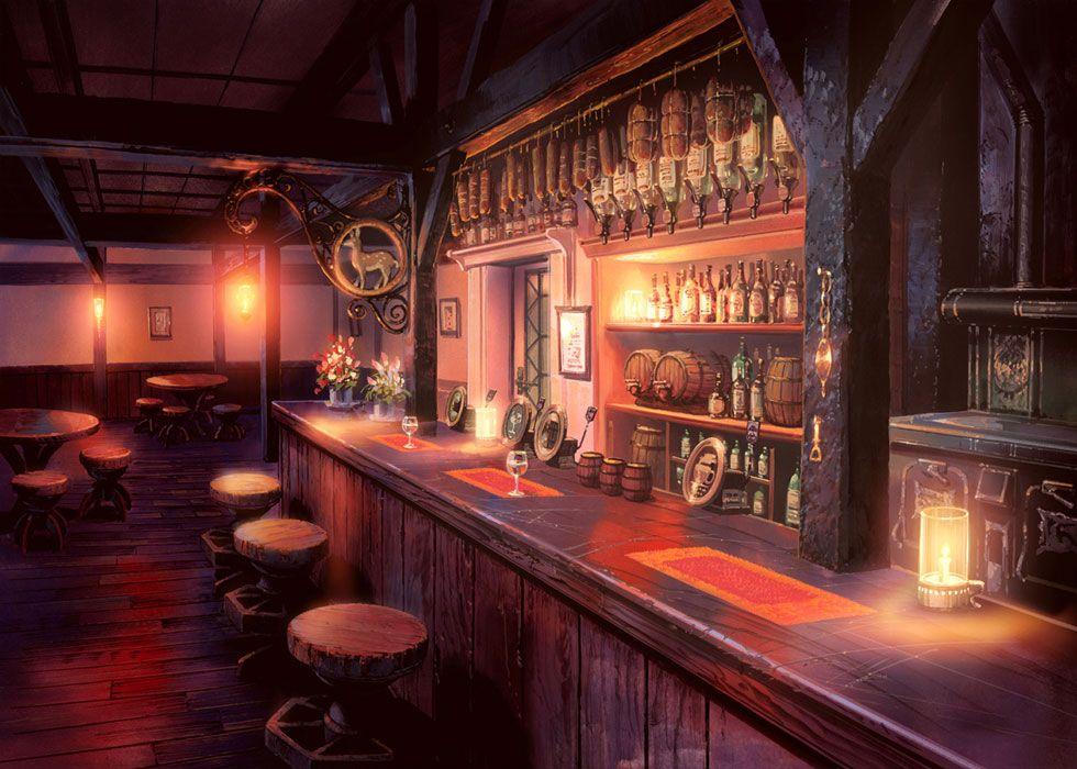 Tavern Characters Art Etrian Odyssey Fantasy Concept Art Environment Concept Art Tavern