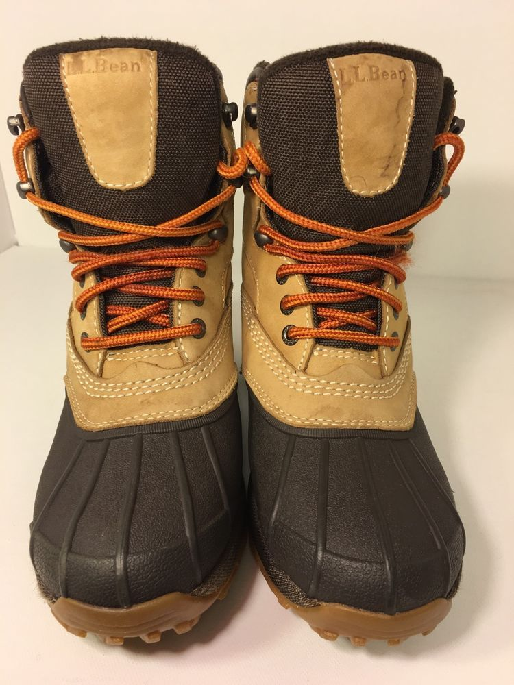 Ll Bean Muck Duck Boots Women's Size 7 5 M Brown | eBay | Ebay ...