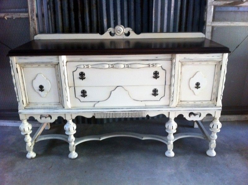 Painted sideboards and buffets foter pinteres for Painted buffet sideboard