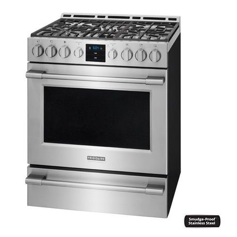 Frigidaire Professional Gas Range 5 1 Cu Ft Stainless