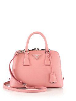4b7fe8a6f4247 Prada - Mini Saffiano Leather Shoulder Bag