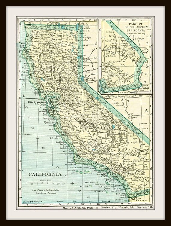DIGITAL Download - 1911 UNITED States Map - US Map for Papercrafts ...