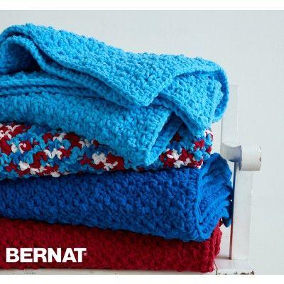 Pebble Stitch Throw Bernat Free Pattern Free Knit Patterns