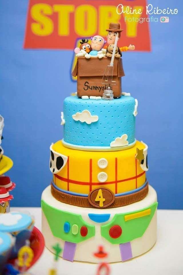 Toy Story Birthday Party Ideas Tartas increbles Tortas