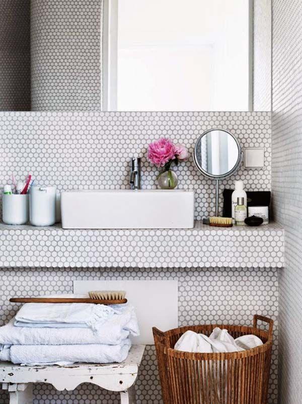 Photo of 44 Fantastiske hvite baderomsdesign inspirasjoner