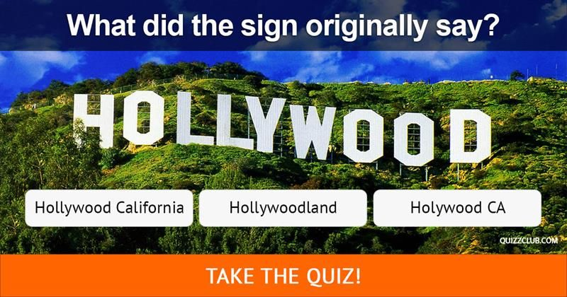 Can You Answer These Trivia Questions About The Famous Hollywood