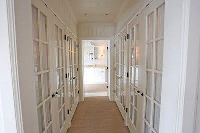 sybaritic spaces Vestibule Closet Inspiration Closet