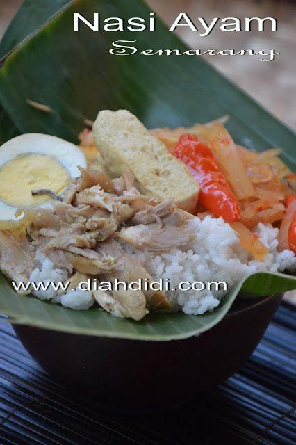 Inspirasi Menu Buka Puasa Sahur Hari Ke 7 Nasi Ayam Semarang Resep Masakan Makanan Dan Minuman Masakan Indonesia