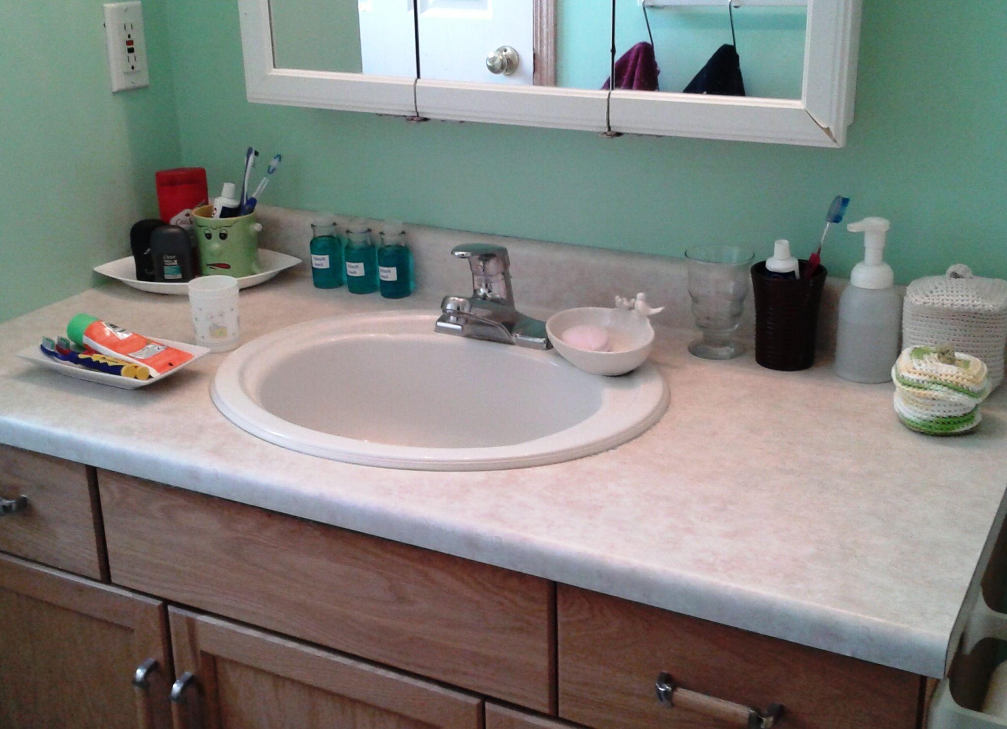 10 Genius Ways How To Craft Bathroom Countertop Organization