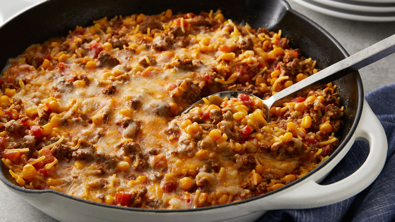 Photo of Nacho Beef Skillet