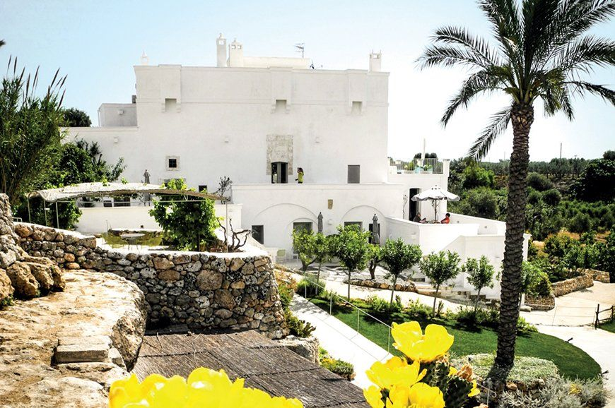 How the alchemy of rural Puglia seduced Swiss sensibility | Luxury Hotels Travel+Style