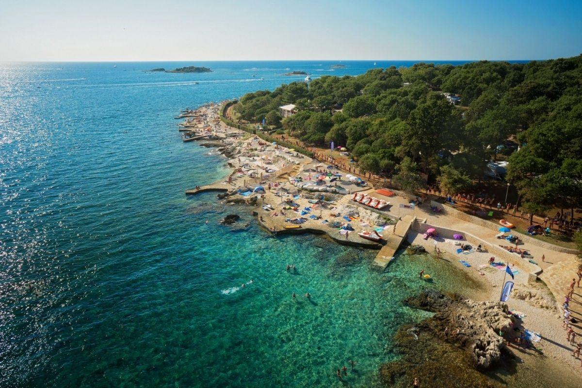 Campingplatz Bijela Uvala, Porec, Istrien, Kroatien