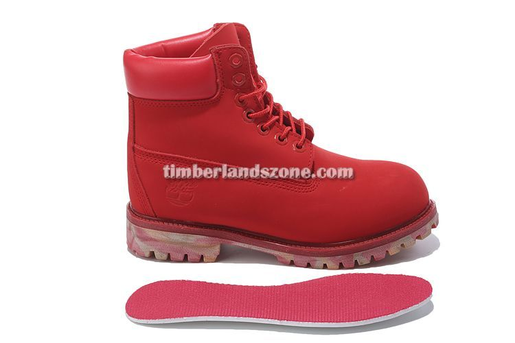 2017 New Men's Timberland 6 Inch Boots Red $90.99