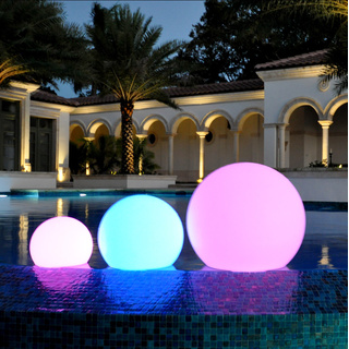 Led Color Changing Waterproof Cordless Outdoor Light Ball 20cm 8 Outdoor Waterproof Led Lights Outdoor Lighting