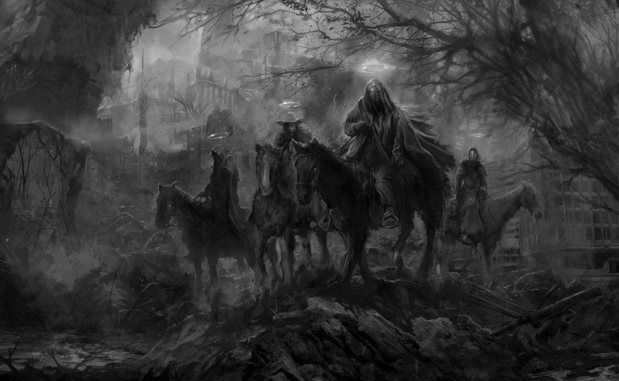 The Horsemen by PabloFernandezArtwrk.deviantart.com on @DeviantArt