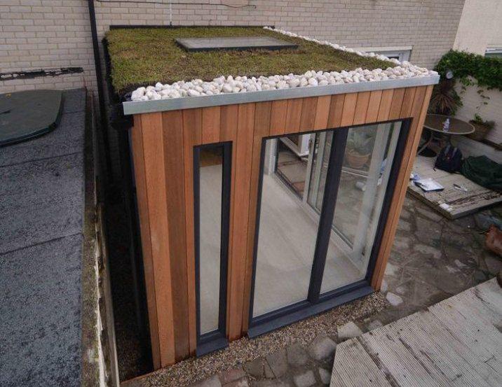 Helix studio una habitaci n en el jard n para todo el a o - Casetas prefabricadas jardin ...