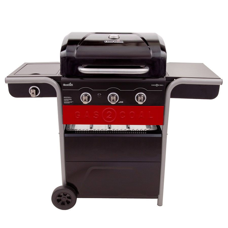 Char Broil Gas2Coal Black Dual Function Combo Grill | Best