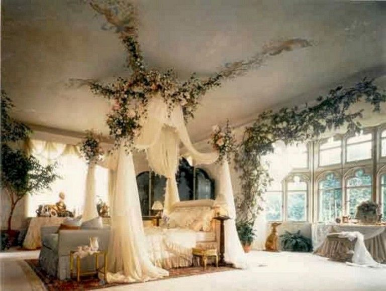 37 Lovely Princess Curtains Design Ideas For Happy Little Girl Page 28 Of 38 In 2020 With Images Elegant Bedroom Decor Fairytale Bedroom Elegant Bedroom