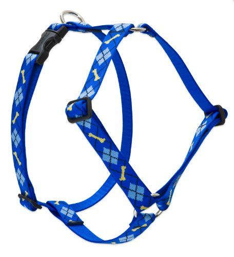 Lupine 1 Inch Dapper Dog Roman Dog Harness for Medium and Large Dogs -- Details can be found by clicking on the image.