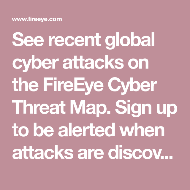 see recent global cyber