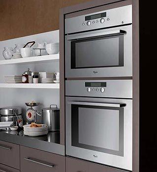 columna horno microondas cocina comedor microondas