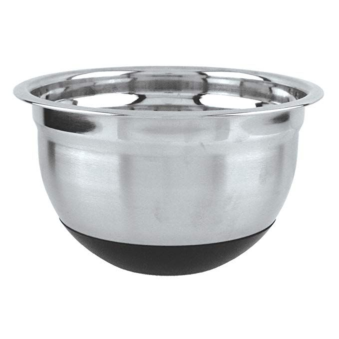 Fox Run 36427 Non Skid Mixing Bowl Stainless Steel 5