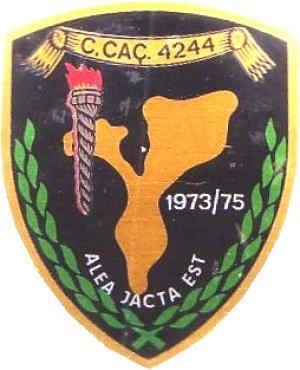 Companhia de Caçadores 4244 Tete, Km 19, cruzamento para Cabora Bassa 1973/1975 Moçambique
