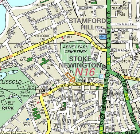 Stoke Newington Map Stoke Newington map | images for tattoos | Map, Truth, lies, Diagram
