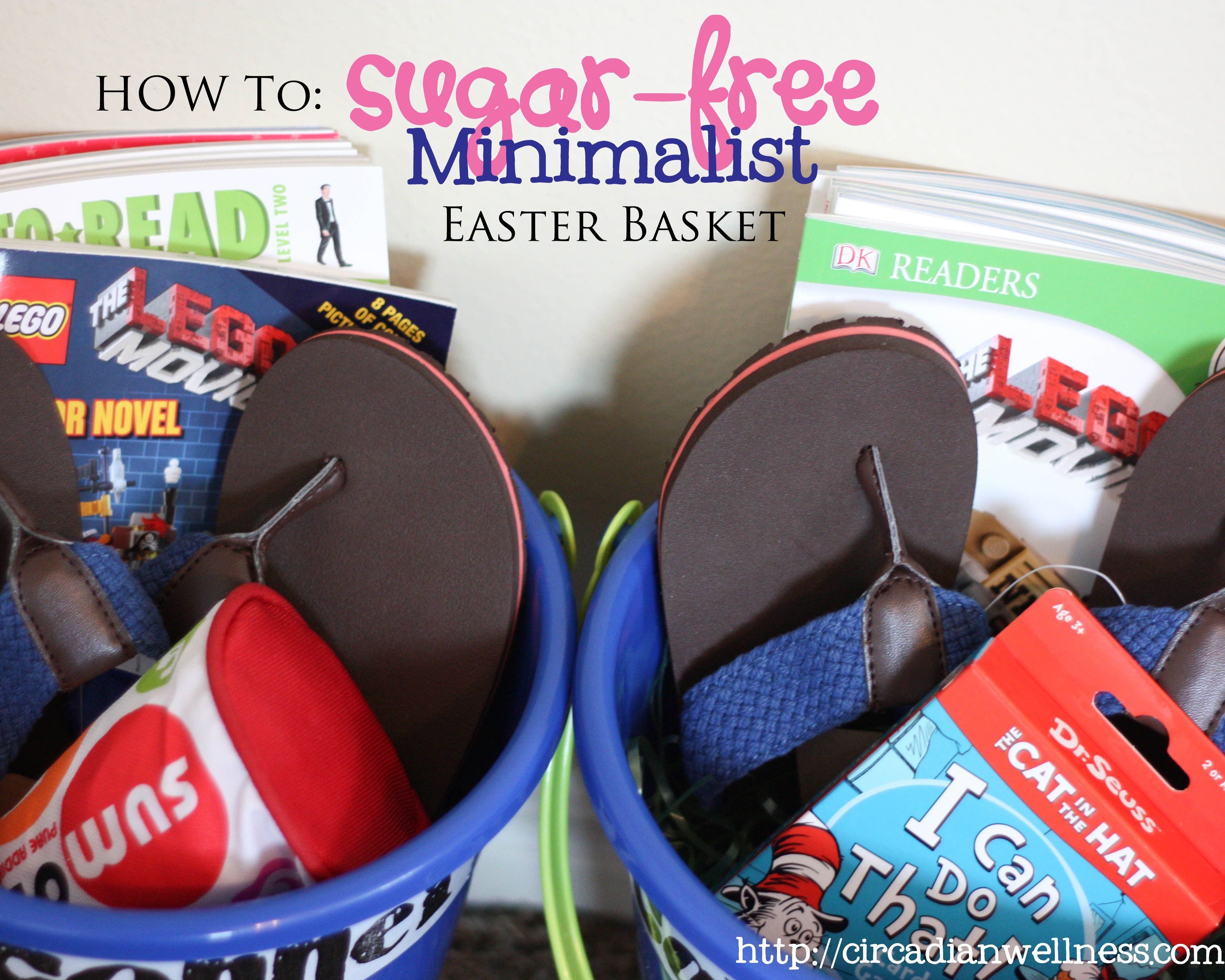How to sugar free minimalist easter baskets holidays how to sugar free minimalist easter baskets negle Gallery