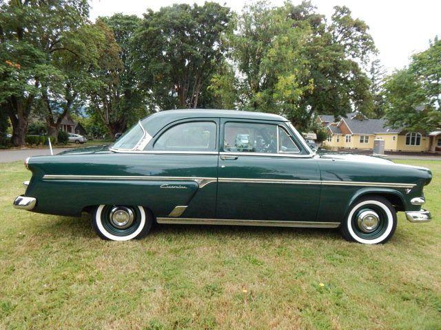 1954 Ford Customline 2 Door Sedan Classic Cars Ford Classic Cars Muscle