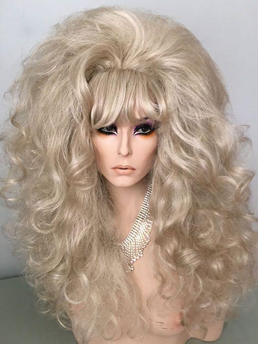 Classic Drag Queen Wig Medium Auburn Light Auburn