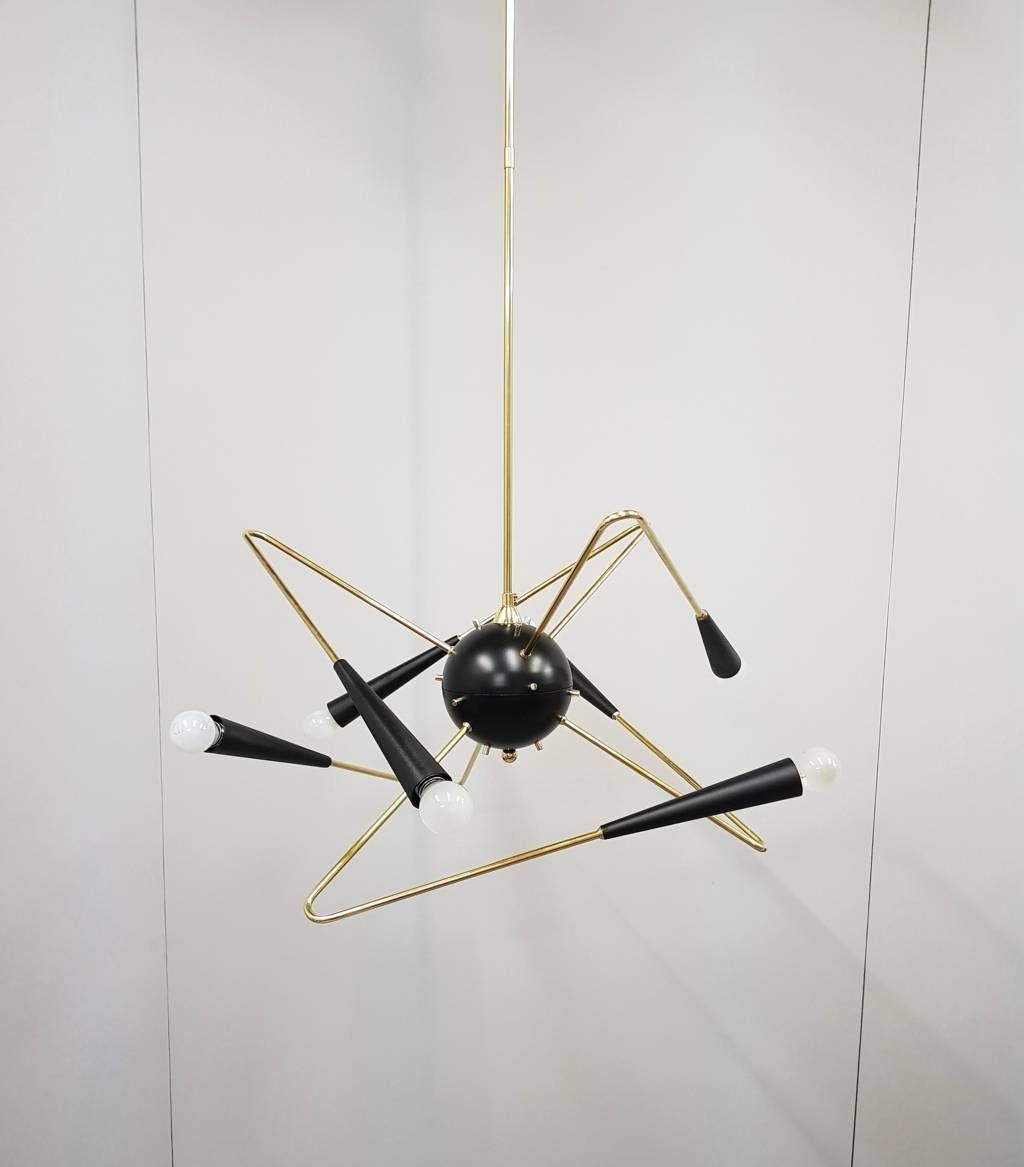 Fantastic atomic chandelier sputnik lamp stilnovo arredoluce fantastic atomic chandelier sputnik lamp stilnovo arredoluce ra von uwdesignstudio auf etsy arubaitofo Image collections
