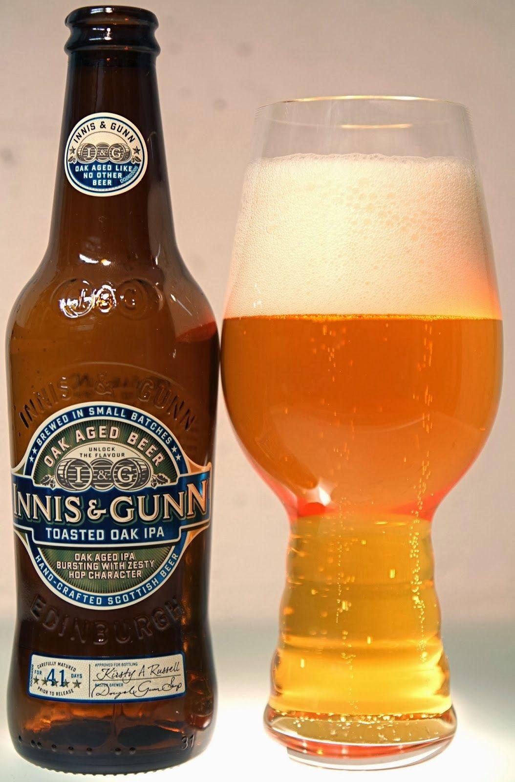 Innis and Gunn Brewery - Innis & Gunn Toasted Oak IPA oak aged 5,6% pullo