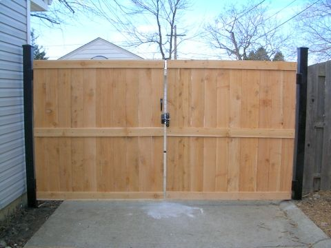 Wooden Privacy Fence Gates Wood Fences Wooden Gates In