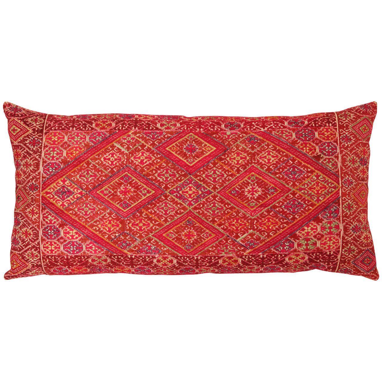 Swat valley embroidered pillow mores of and furniture