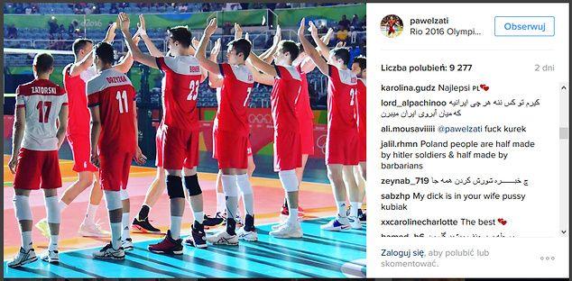 W swoim drugim meczu na igrzyskach reprezentanci Polski pokonali Irańczyków 3:2. Naszym przeciwnikom po ostatniej piłce spotkania puściły nerwy, a był to dopiero początek.