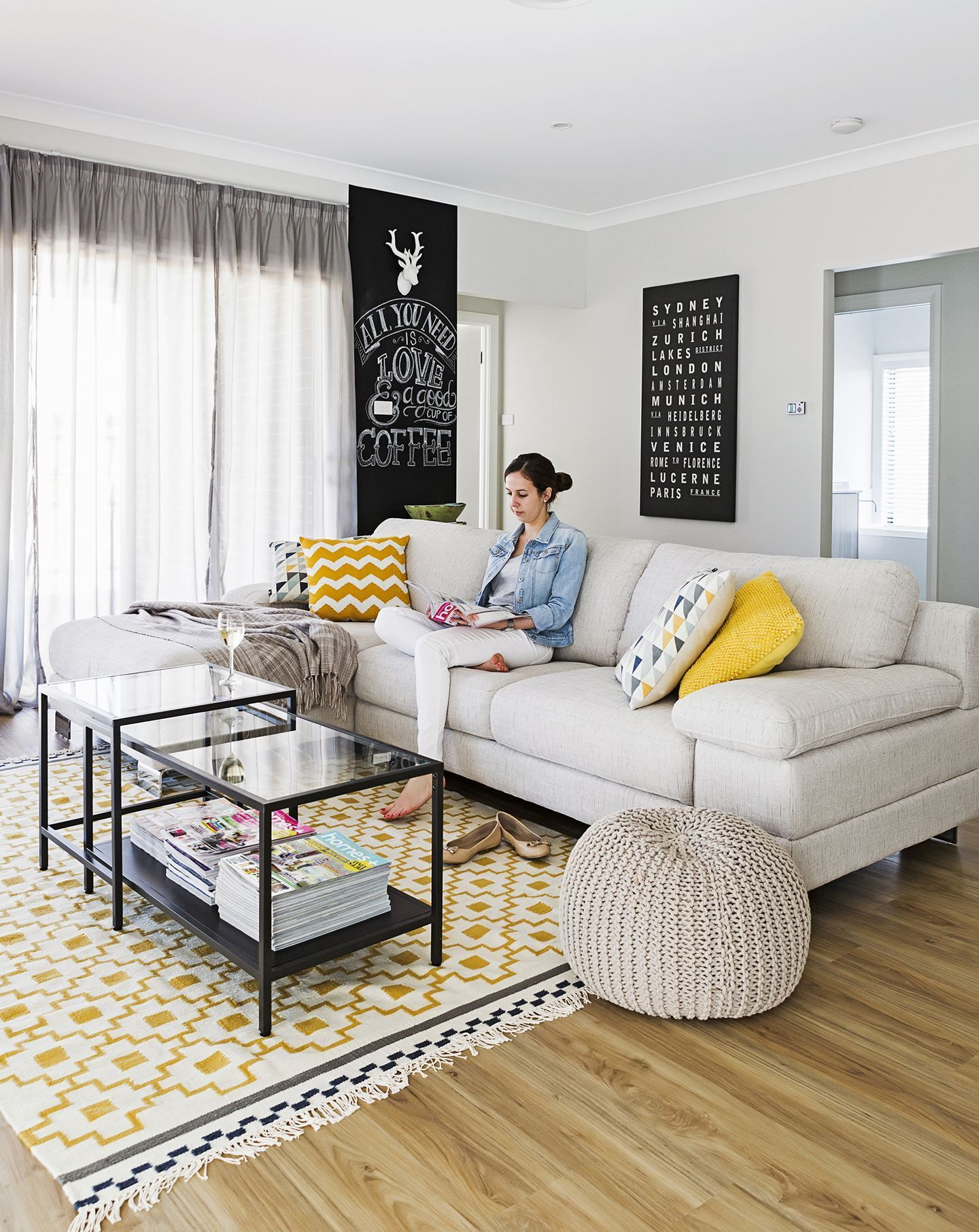 Katie and Nathan's Modern-Classic New Build | Rugs in ...