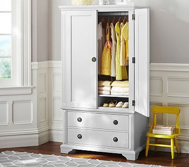 Fiona Armoire, French Simply White