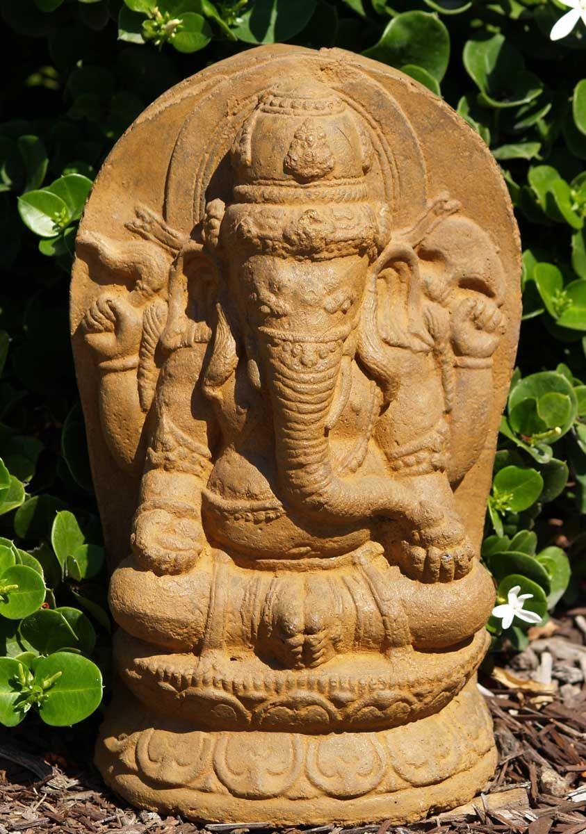 Stone Ganesh Garden Sculpture a part of Hindu Gods and Buddha ...