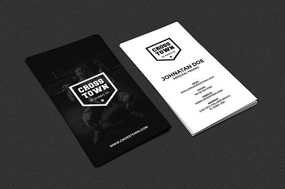 Gym fitness business card business cards card templates and template gym fitness business card accmission Image collections