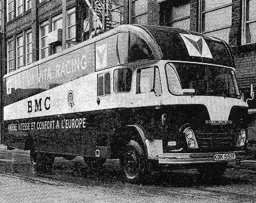 British Vita Race Transporter Old Classic Cars Classic Racing Cars Classic Trucks