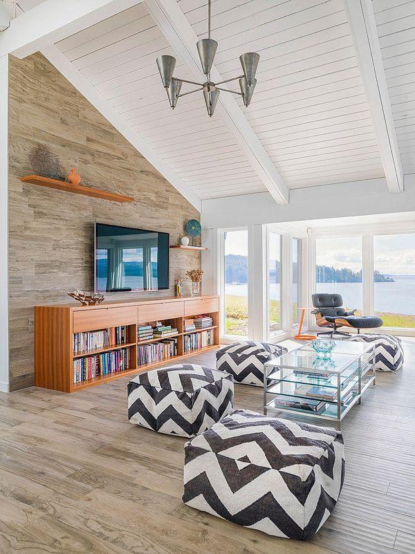 mid century modern beach house retreat on pender island. beautiful ideas. Home Design Ideas