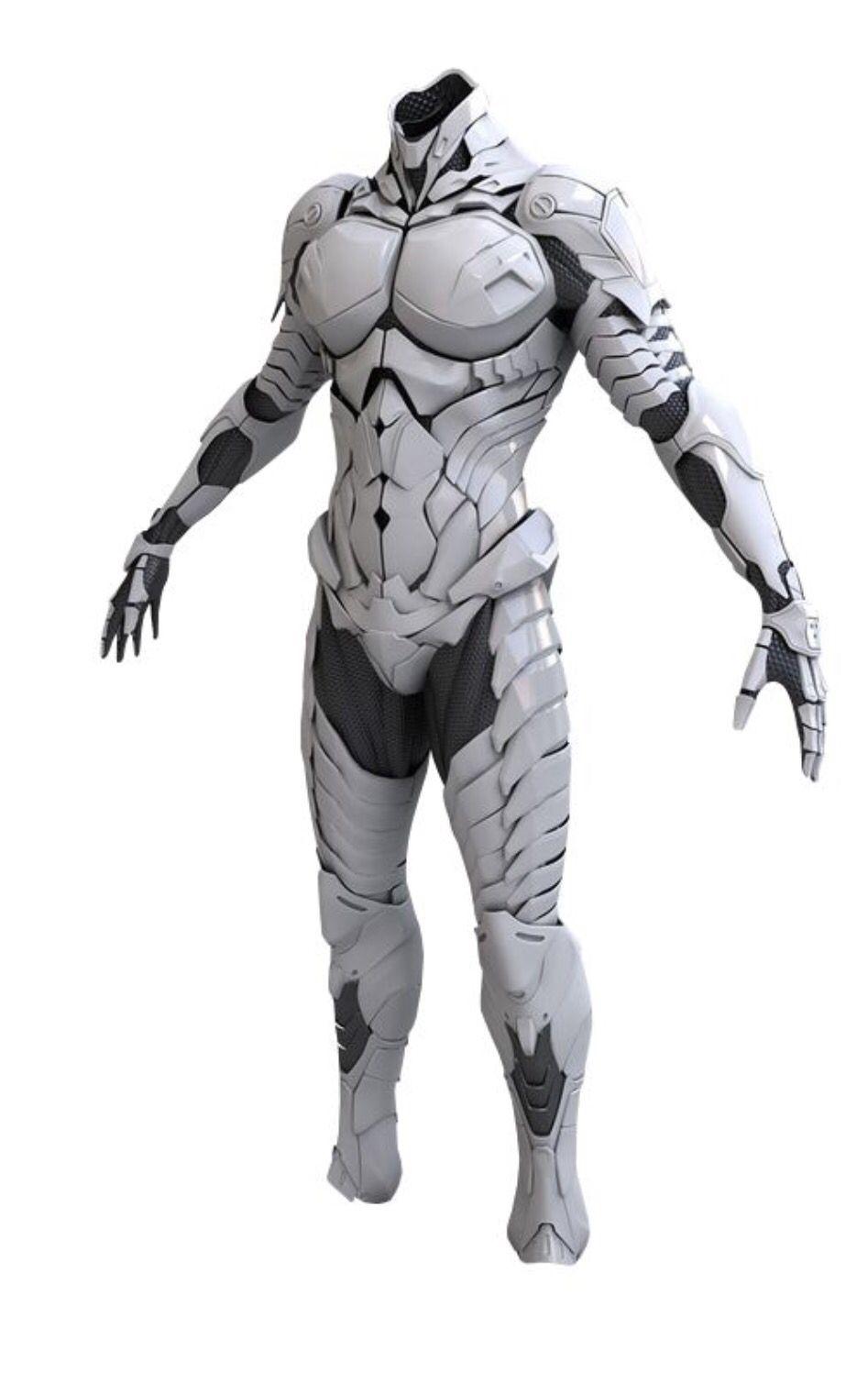 Future Technology Body Armer White Sci Fi Pinterest Armor Thrill Vanquish Elite