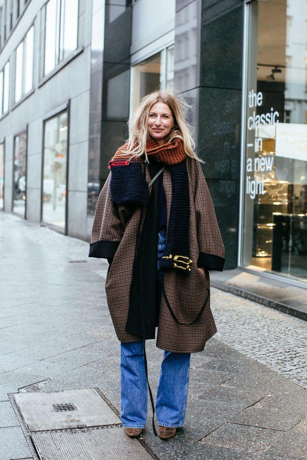 Sue Giers streetstyles schöne looks der berliner modewoche berlin fashion