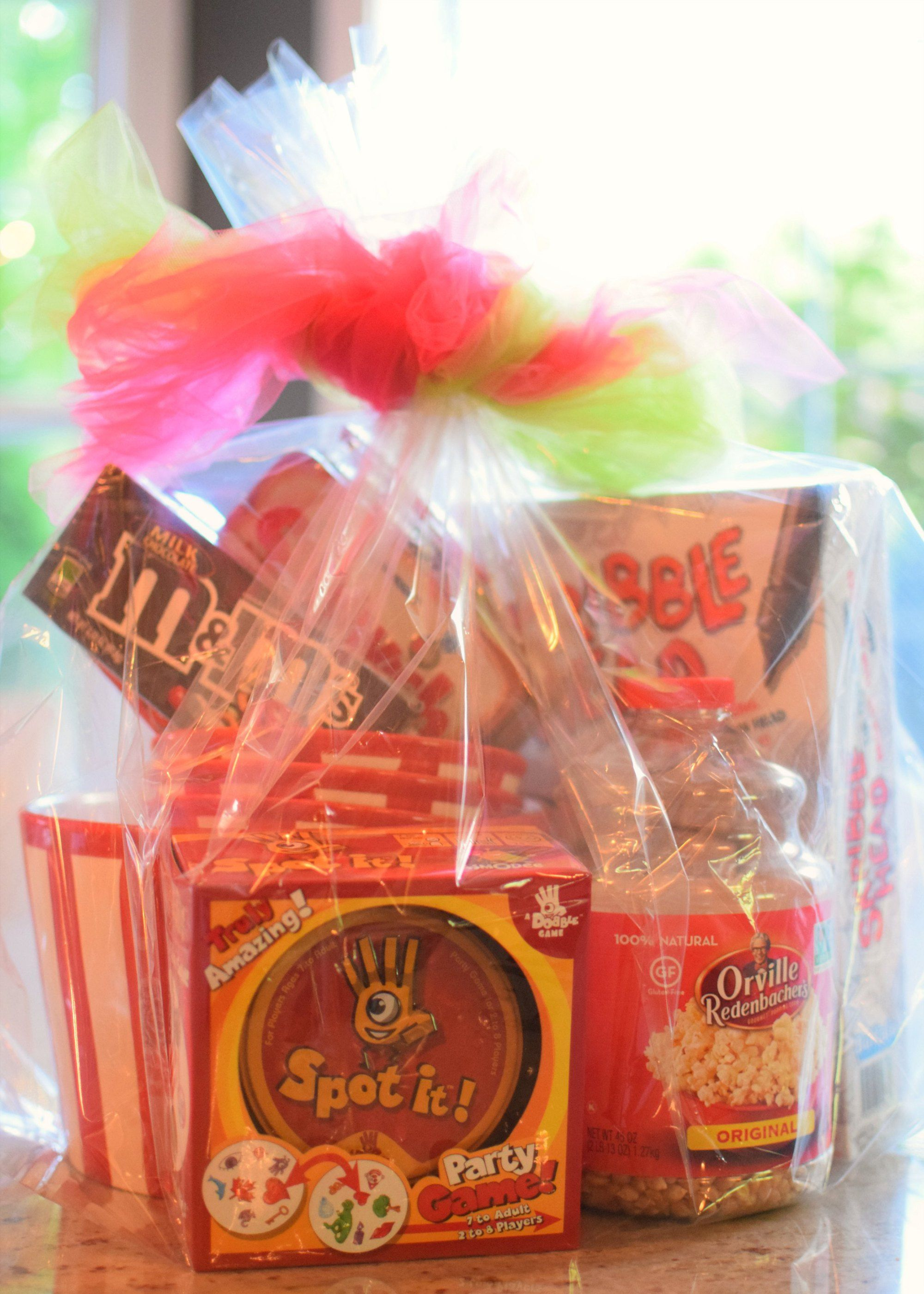Family Fun Night T Basket Giveaway