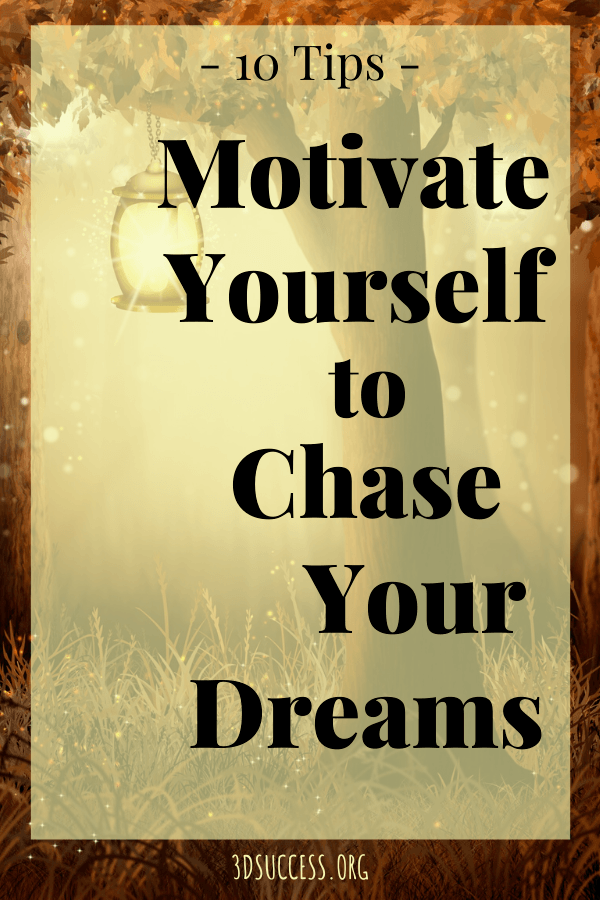 Sad Stress Quotes How to Motivate Yourself to Chase Your Dreams - 3D Success