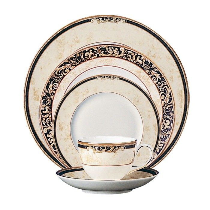 Cornucopia 5 Piece Place Setting · Fine China ...