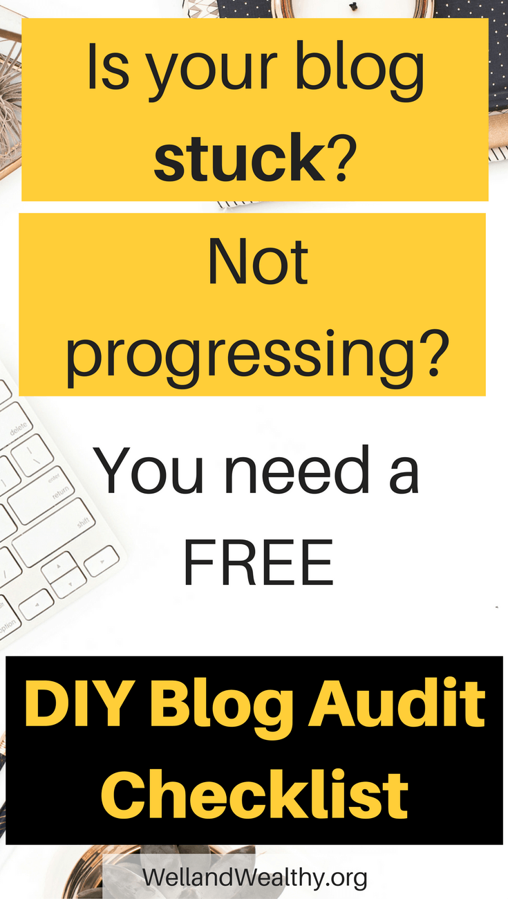 Do it yourself blog audit checklist transform your blog today blog not progressing not making money or struggling with blog traffic you need this solutioingenieria Image collections