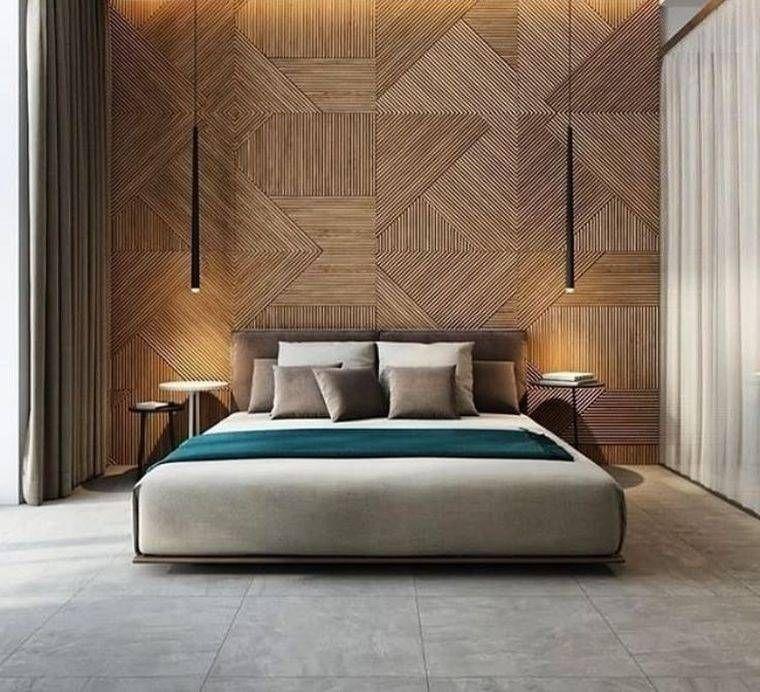 Revêtement mural bois – nos idées tendance pour la déco chambre ...